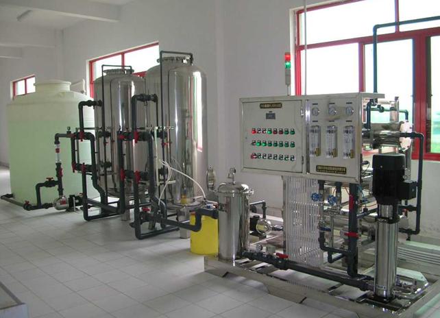 纯净水生产线处理方法